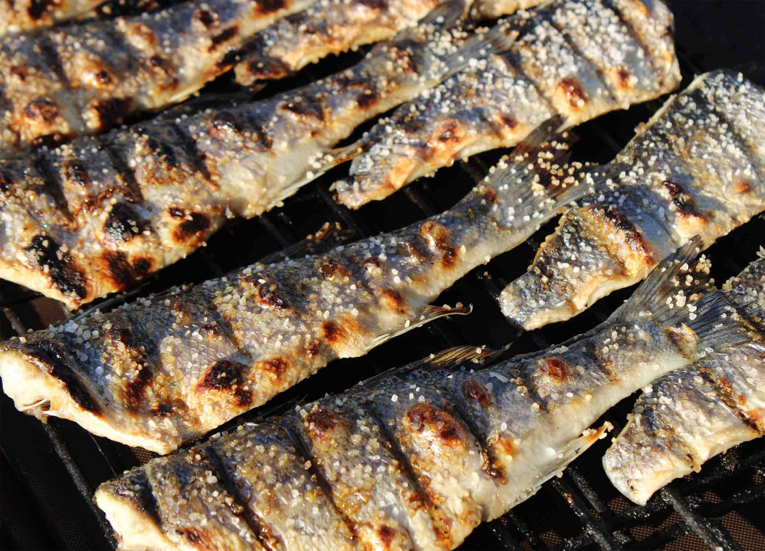 Fish at the Grill
